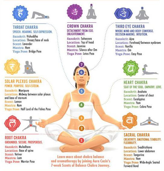 7 tantric chakra